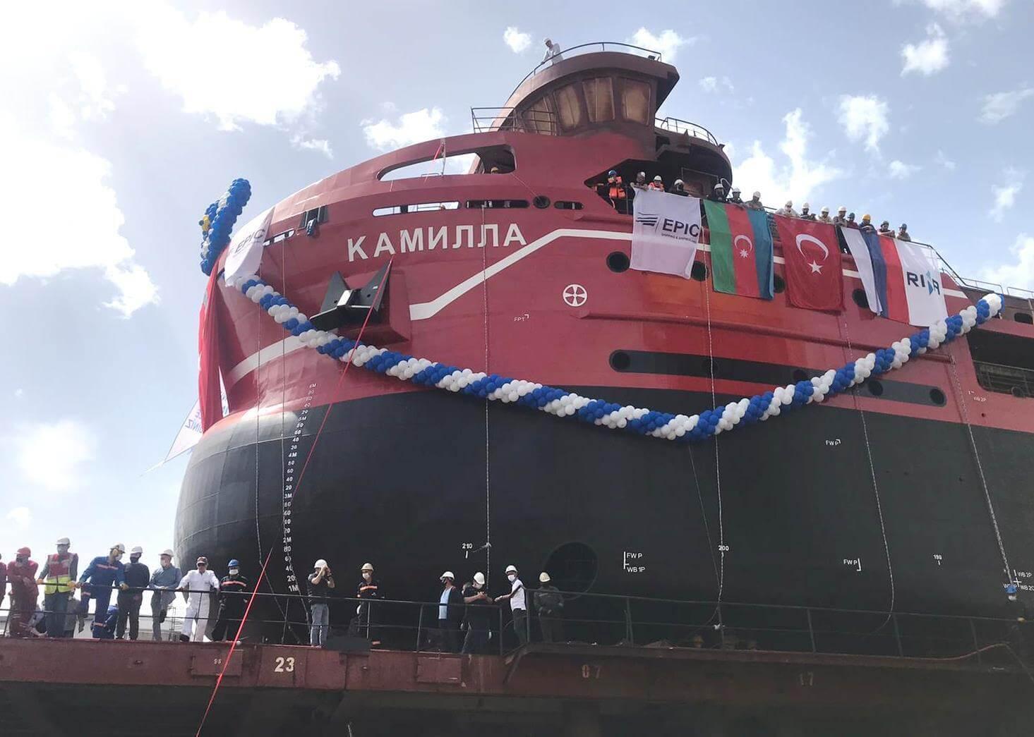 Персвое судно МТ-Групп
